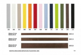 GROSGRAIN IMPUTURA H 25MM X 50 MT