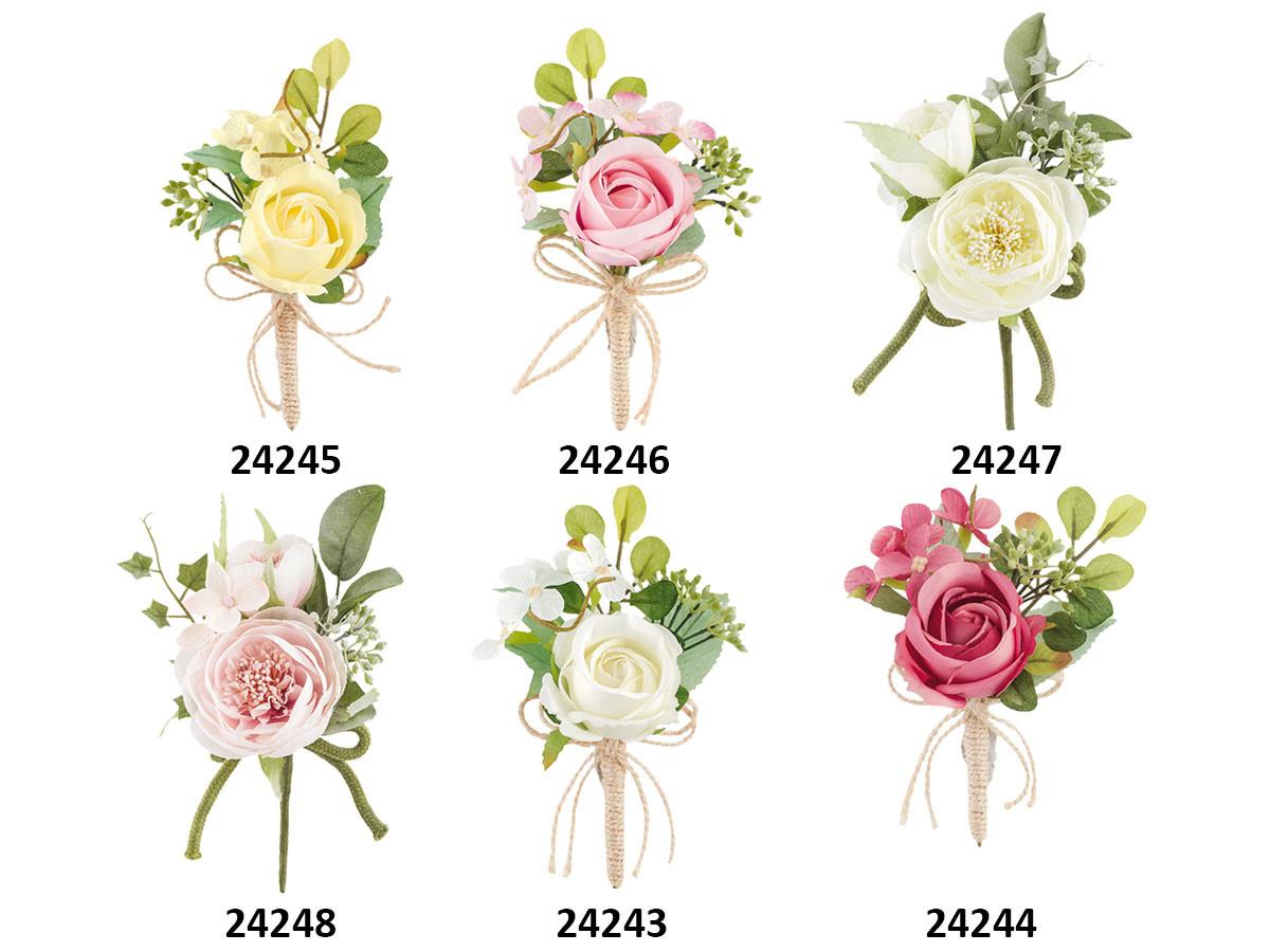 Rami Di Pesco Finti fiori artificiali per confezionamento bombonbiere