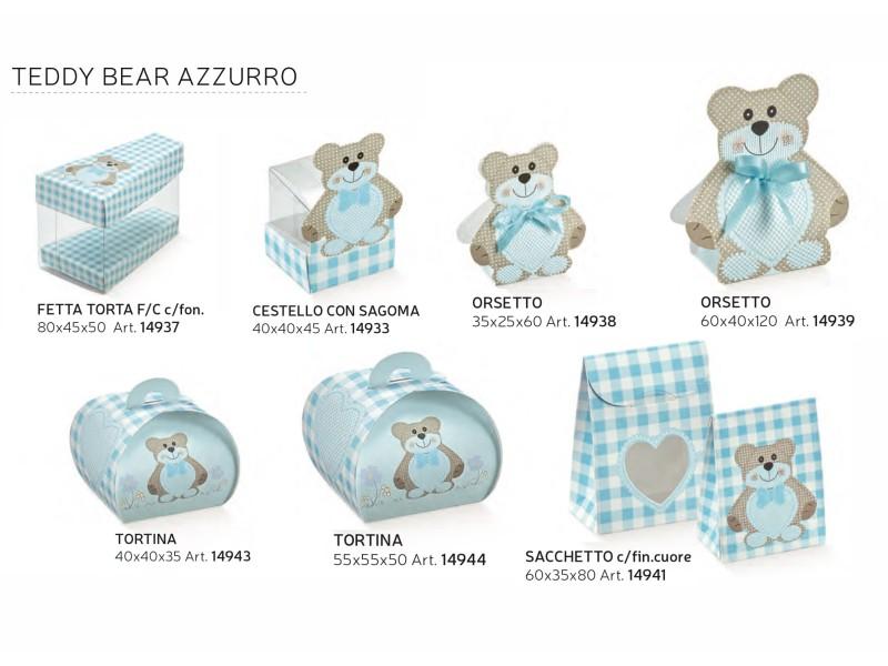 TEDDY BEAR AZZURRO